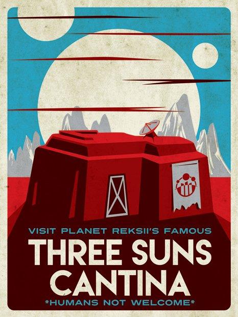 3 Suns Cantina
