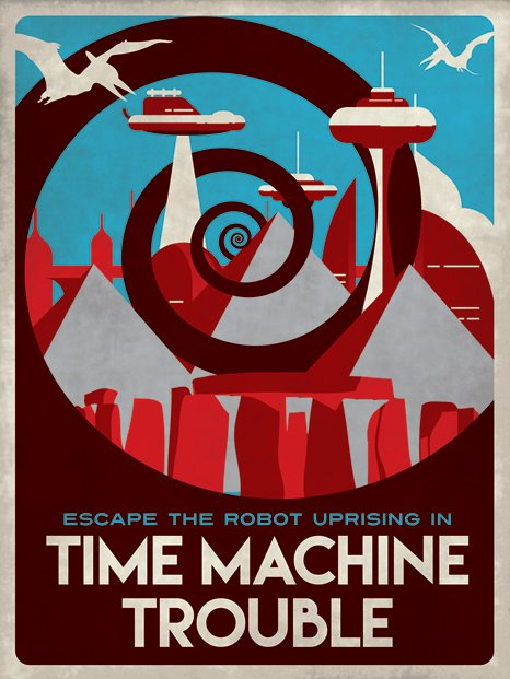 Time Machine Trouble